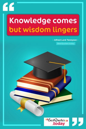 Knowledge & Wisdom Quote by Alfred Lord Tennyson
