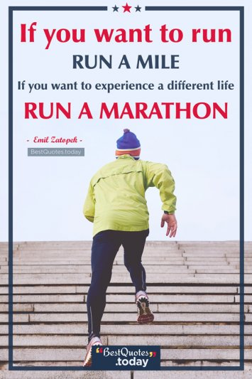 Experience Quote by Emil Zatopek