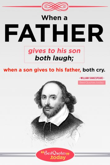 Father Quote by William Shakespeare