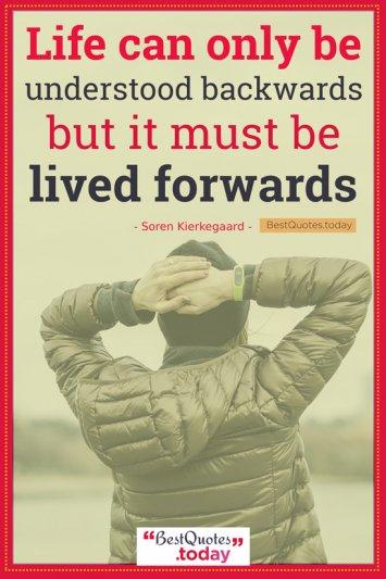 Experience Quote by Soren Kierkegaard