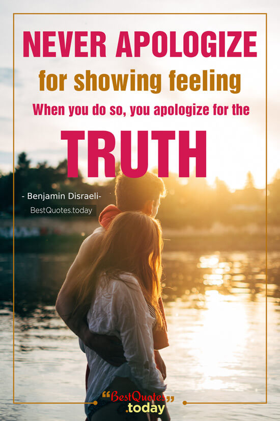 Love & Truth Quote by Benjamin Disraeli