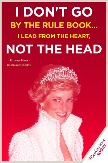 Leadership Quote by Princess Diana