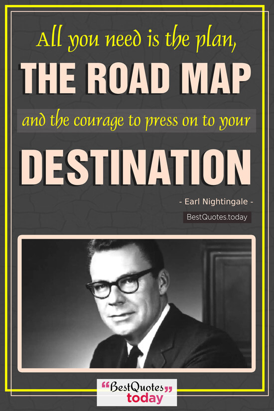 Inspirational Quote by Earl Nightingale