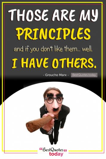 Funny Quote by Groucho Marx