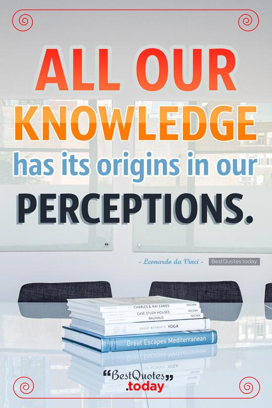 Knowledge Quote by Leonardo da Vinci