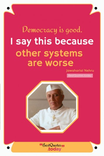Motivational Quote by Jawaharlal Nehru