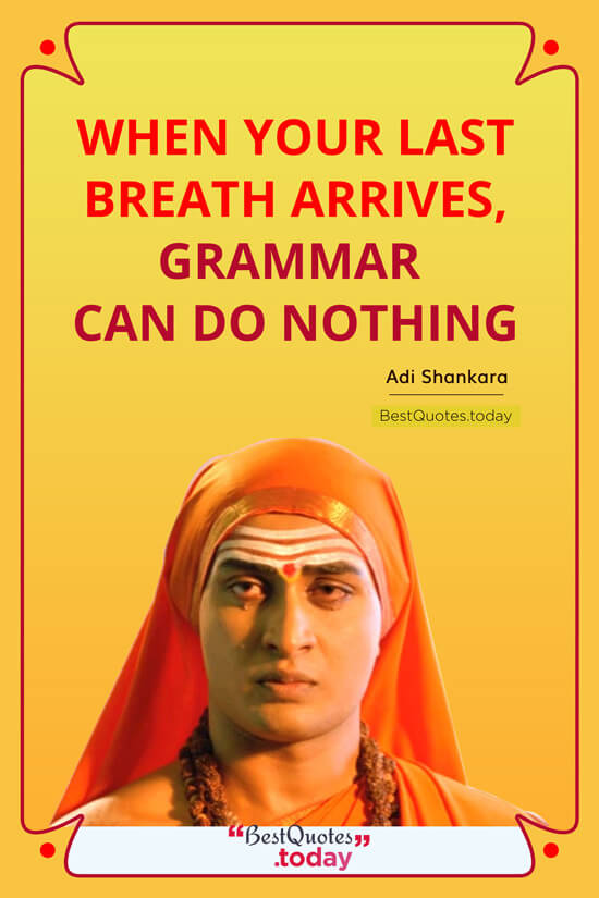 Spiritual Quote by Adi Shankara