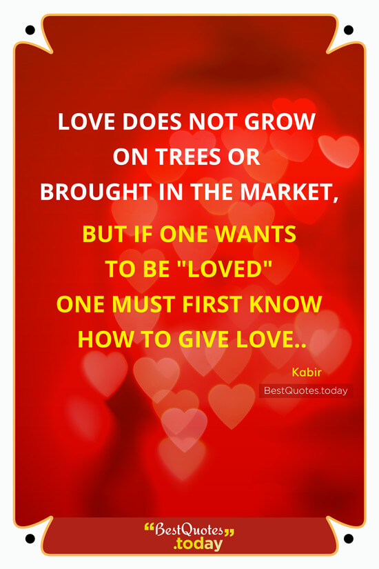 Philosophy Quote by Kabir
