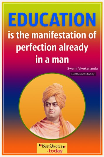 Motivational Quote by Swami Vivekananda